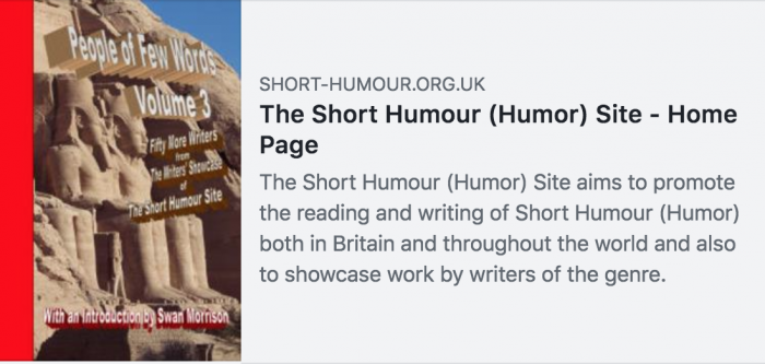 Short Humour Site screenshot