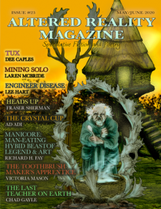 Altered Reality Magazine cover