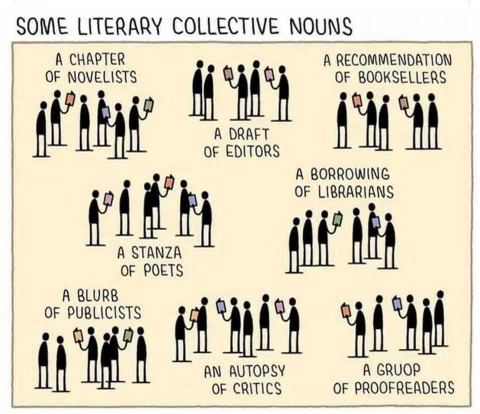 Some Literary Collective Nouns